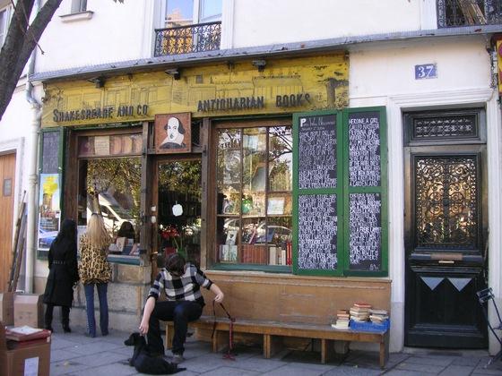 antica libreria Shakespeare & Co - antica libreria Shakespeare & Co  - Parigi, Francia - di Cleofe85