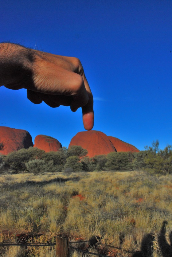 Australia - Pushing on Olgas  - di GMan