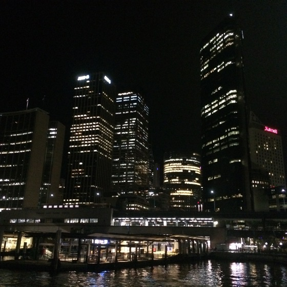 Australia - Sydney by night - di ironino