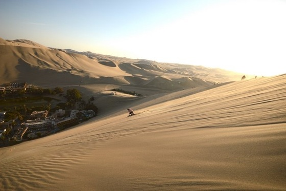 Bolivia - Ski in huacachina - di MikeTex