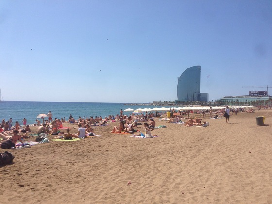 Barcelona - La Barceloneta  - di Serenavariabile