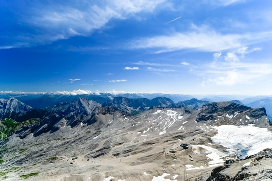 Baviera - Zugspitze, top of Germany  - di Francesca Carconi