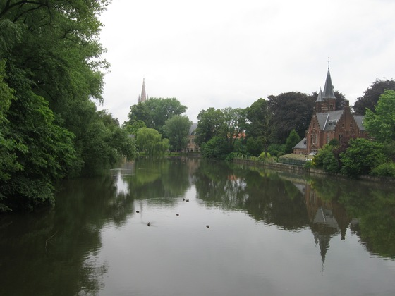 Belgio - Bruges Minnewater - di sovar