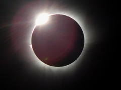 Eclisse totale Sole Balikpapan Indonesia - Borneo