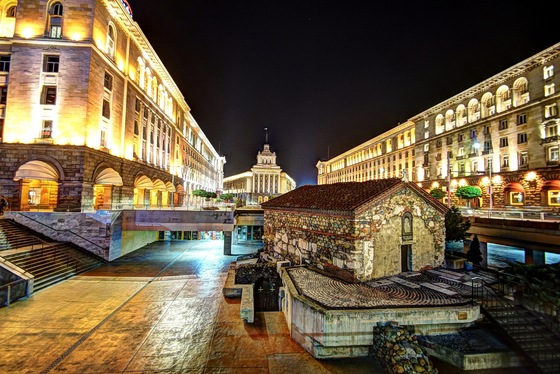 Bulgaria - Sofia by night - di Libra