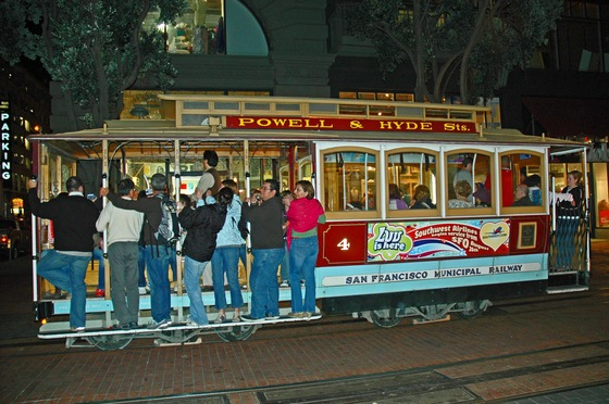 California - In tram a San Francisco - di Uzbe