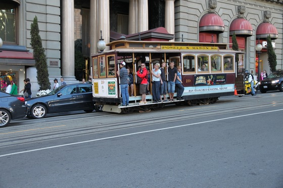 California - Cable car of San Francisco... - di simix80