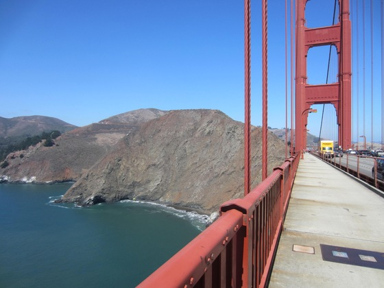 California - Golden Gate Bridge - di Porfuera48