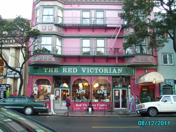 California - The red victorian - di lince1003