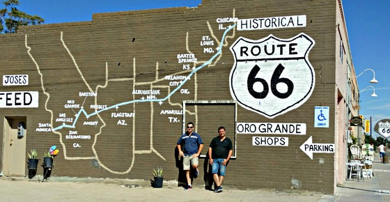 California - Vivere un mito: la Route 66 in California, U.S.A. - di Buraz Bonf