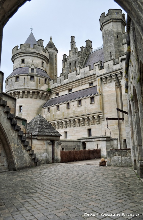 Castelli - Chateau de Pierrefonds, Trip of Magic - di Awasen