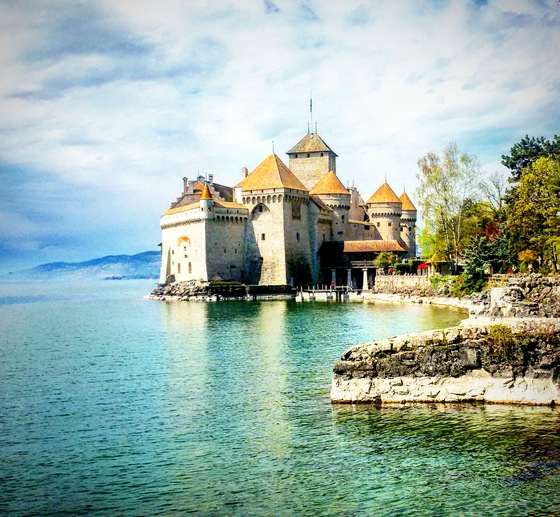 castello chillon - Come in una fiaba..un castello da favola - di cami83