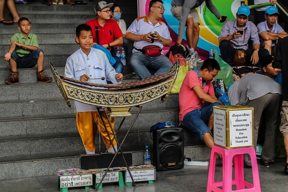 Chiang mai - Kid Playing - di Fabio Pinelli