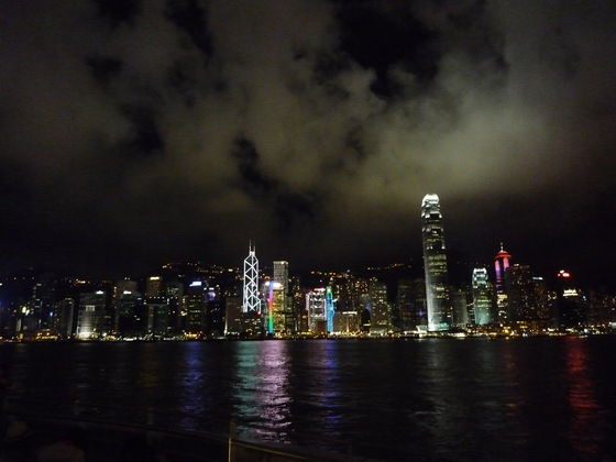 Cina - Hong Kong by night - di curiosona