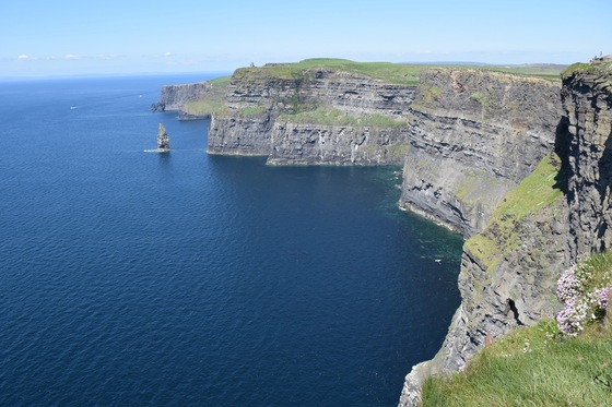 Cliff of Moher - Circondati dal blu  - di Domenico Sly Pampinella