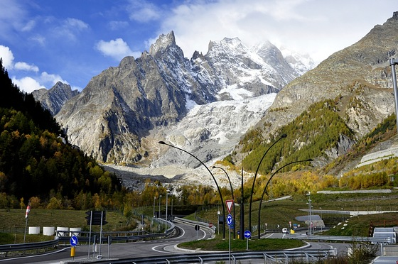 Courmayeur - Skyway Monte Bianco - di GIOVANNINI ALDO