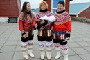 Donne inuit in costume tipico - Groenlandia