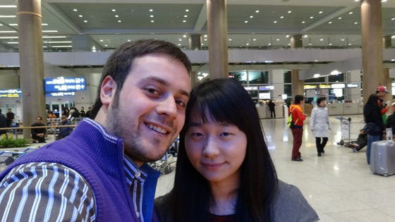 Cultura - Inchon Int. Airport with Do Hee - di japigino