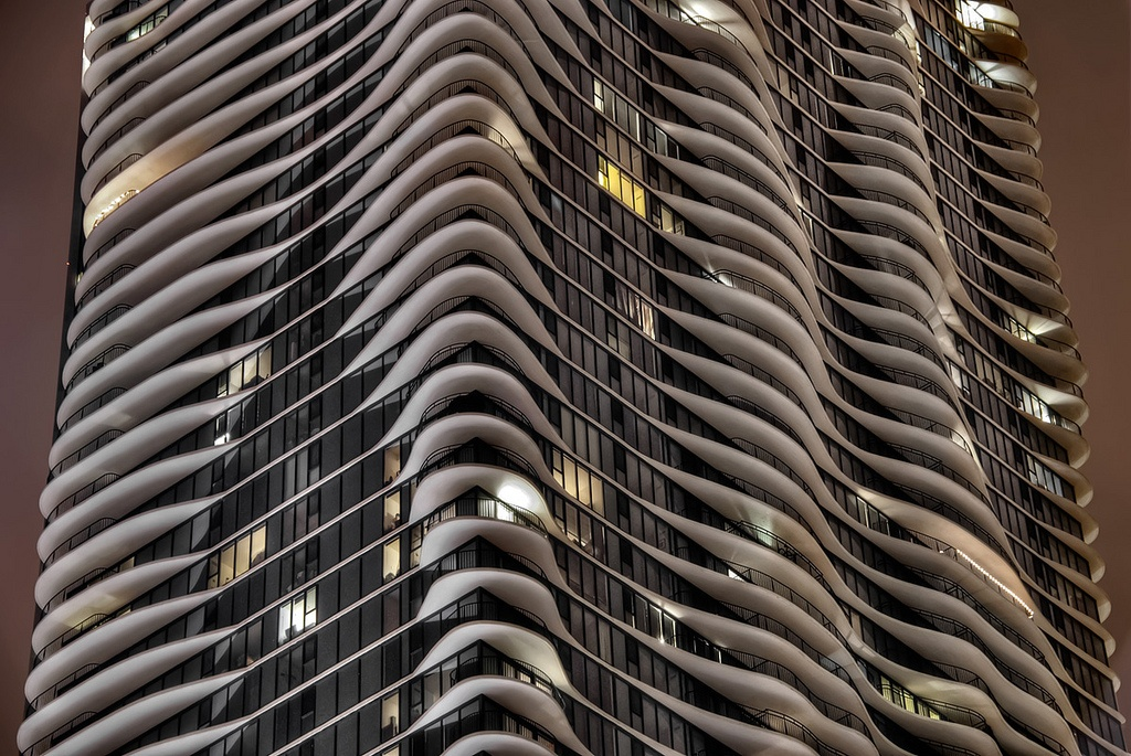 Cultura - chicago, Aqua building