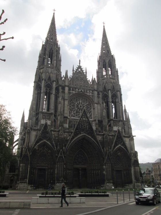 Cultura - Rouen Cattedrale - di yellowhand8