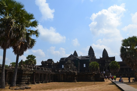 Cultura - angkor wat: ingresso interno - di fwaterty