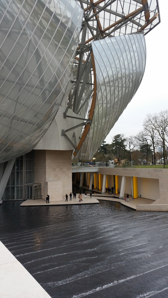Cultura - fondation Louis Vuitton - di flam