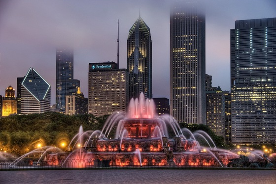 Cultura - chicago, buckingham fountain - di Libra