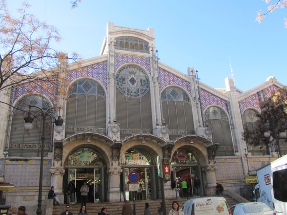 Valencia - Mercado Central - di battirena