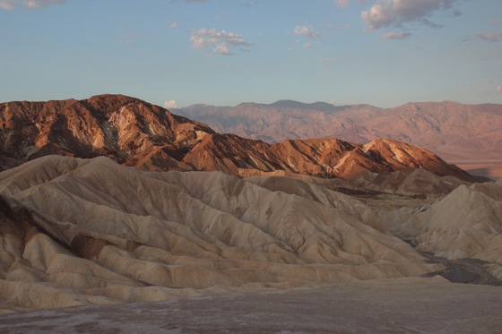 Death Valley - Zabriskie point - di Iredani