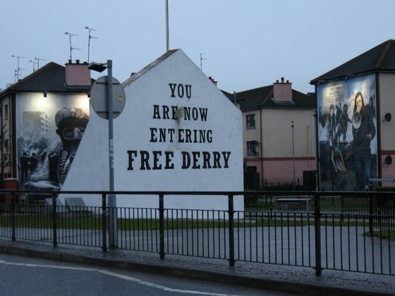 Donegal - Bogside, Derry - di iwantyou82
