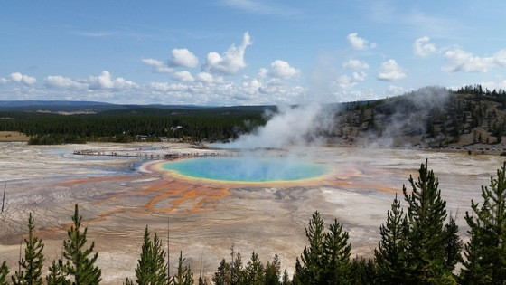 Durango - Yellowstone. Grand Prismatic Spring - di Isa&Titti