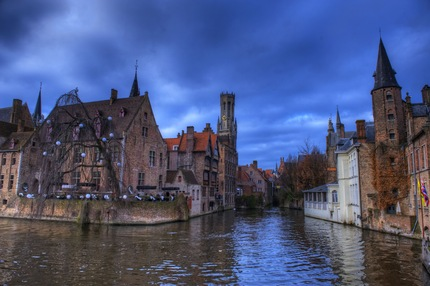 Bruges, il cuore d'Europa