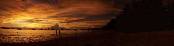 Filippine - Tramonto (boracay sunset) - di mfrancisco