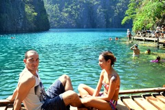 Lago Kayangan, Filippine! travelplannerfamily.com - Filippine