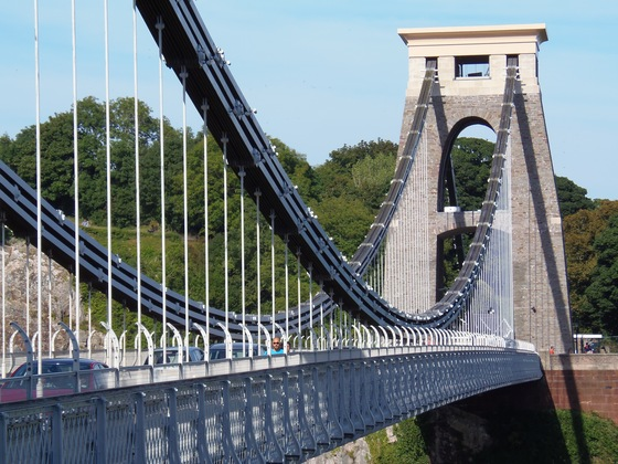 Galles - Clifton suspension bridge - di Gherardo