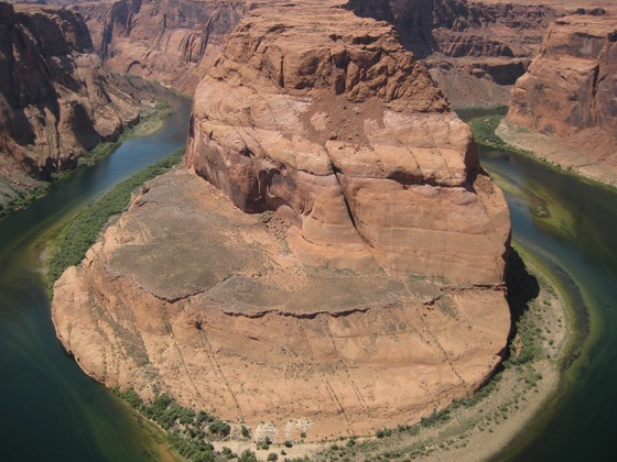 Grand Canyon Horse Shoe Bend - Il Colorado  - di La Vale