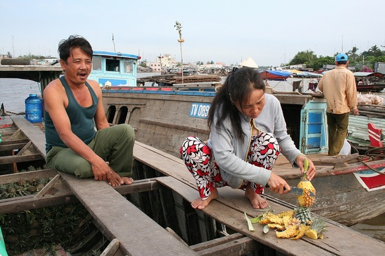 Ha Long bay - Floating Market, Cai Be, Vietnam - di ENRY70
