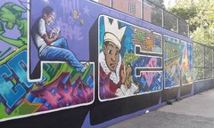New York, murales - Harlem