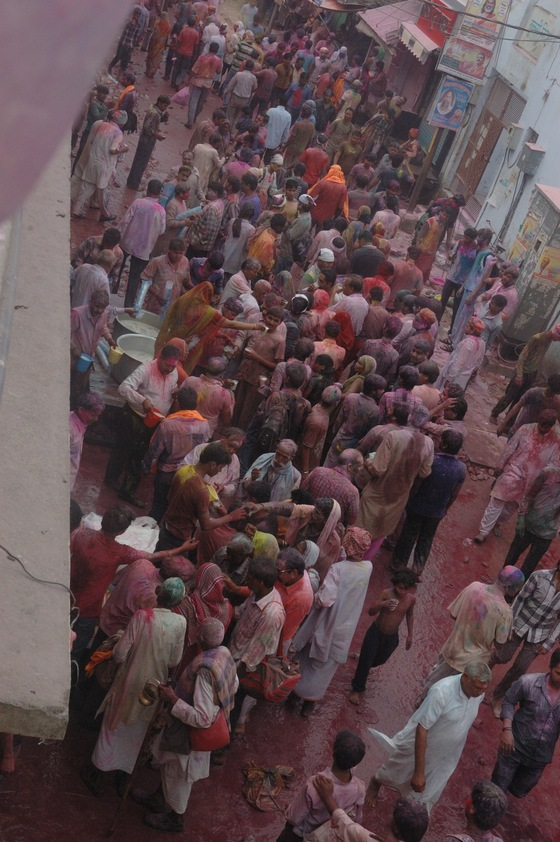India - Holi chaos - di Athanor