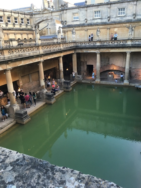 Inghilterra - Roman Bath - di Mr Moonlight