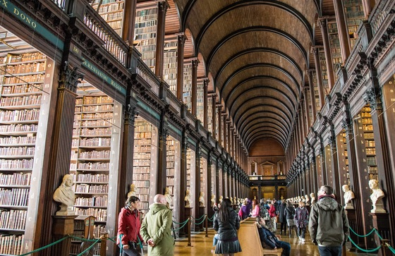 Irlanda - Long Room - Trinity College - di balzax