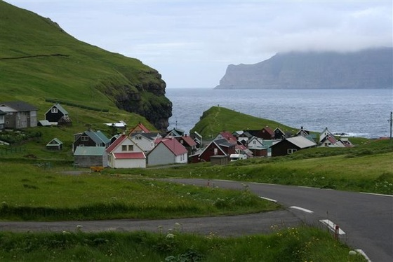 Isole Faroe - Isole Faer Oer - Gjogv - di honey-sunny