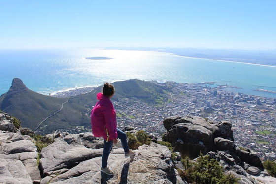 Kruger National Park - Hiking to the top. Table Mountain. - di Cle_Cap