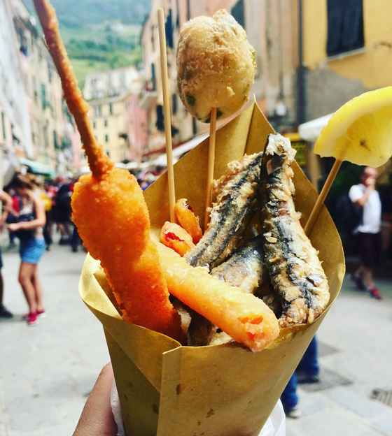 Liguria - Fritto on the go - di Pilusoro