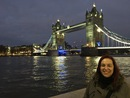 Francesca & Tower Bridge - Londra