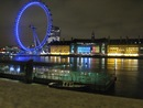 il London Eye di notte - Londra