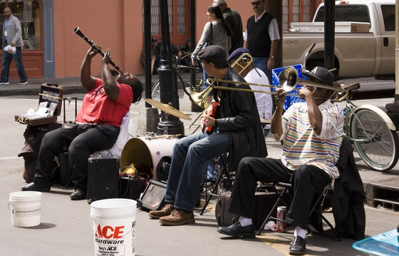 Louisiana - jazz a new orleans - di Moranda