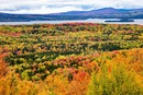 Maine 17 highway - Rangeley Lakes Overlook - Maine
