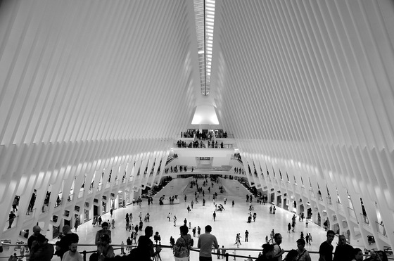 Manhattan - Ground zero metro station - di Redeyes5