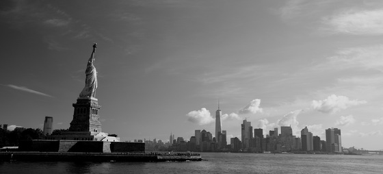 Manhattan - Lady Liberty & Lower Manhattan - di Redeyes5